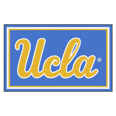 NCAA University of California - Los Angeles (UCLA) Rug Rug Size: 5 x 78