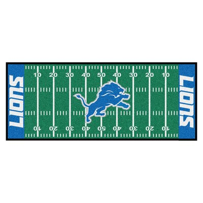 NFL - Detroit Lions Football Field Runner