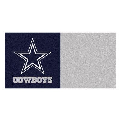 NFL Team 18 x 18 Carpet Tile NFL Team: Dallas Cowboys