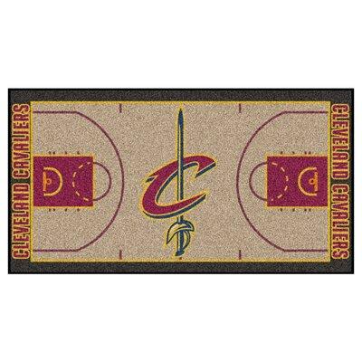 NBA - Cleveland Cavaliers NBA Court Runner Doormat Mat Size: 2 x 38