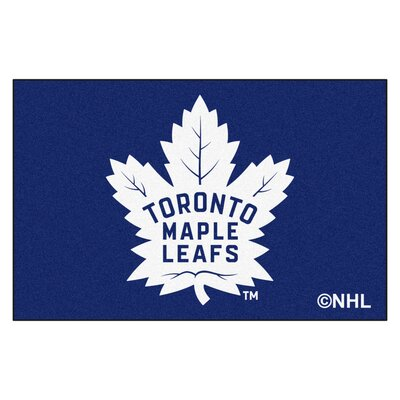 NHL - Toronto Maple Leafs Doormat Rug Size: 18 x 26