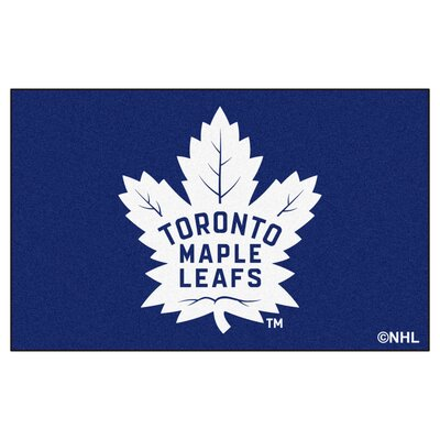 NHL - Toronto Maple Leafs Doormat Rug Size: 5 x 8
