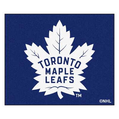 NHL - Toronto Maple Leafs Doormat Rug Size: 5 x 6