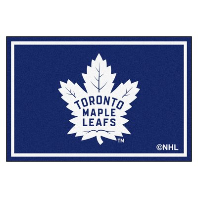 NHL Doormat Mat Size: 5 x 78, NHL: Toronto Maple Leafs