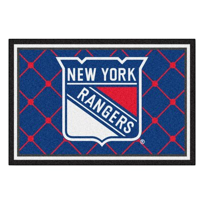 NHL - New York Rangers Doormat Mat Size: 5 x 78