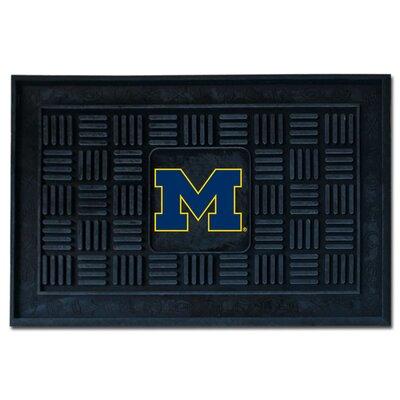 NCAA University of Michigan Medallion Door Mat