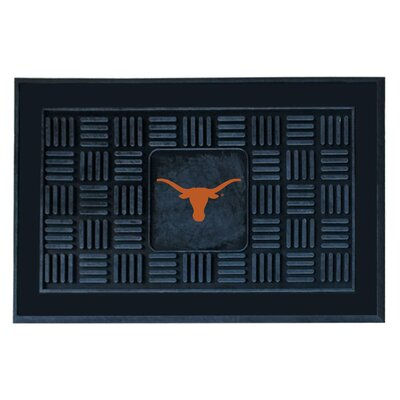 NCAA University of Texas Medallion Door Mat