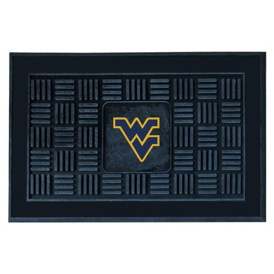 NCAA West Virginia University Medallion Door Mat