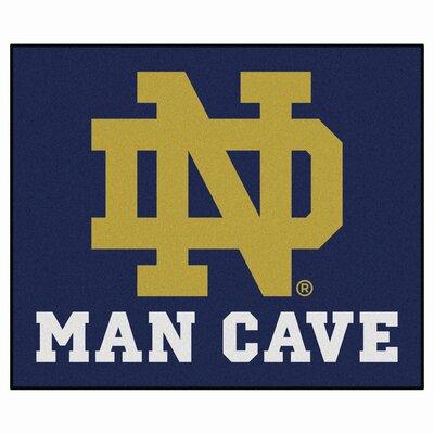 NCAA Notre Dame Man Cave Indoor/Outdoor Area Rug