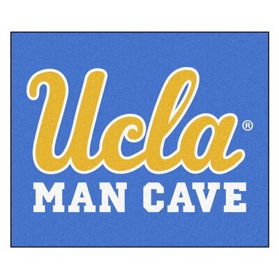 NCAA UCLA Man Cave Indoor/Outdoor Area Rug
