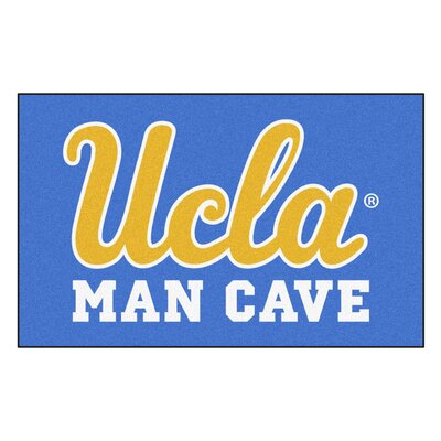 Collegiate NCAA UCLA Man Cave Doormat