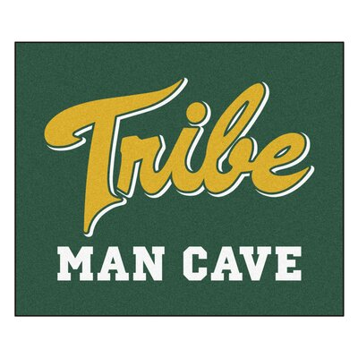 NCAA College of William & Mary Man Cave Indoor/Outdoor Area Rug