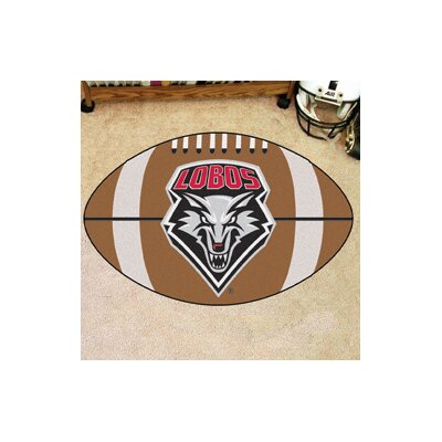 NCAA University of New Mexico Football Doormat
