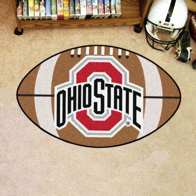 NCAA Ohio State University Football Doormat