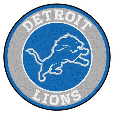 NFL Detroit Lions Roundel Mat
