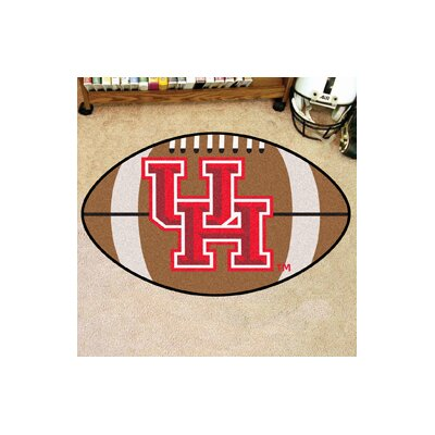NCAA University of Houston Football Doormat
