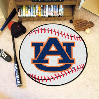 NCAA Auburn University Baseball Mat