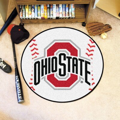 NCAA Ohio State University Baseball Mat