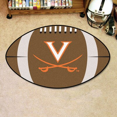 NCAA University of Virginia Football Doormat