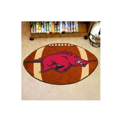 NCAA University of Arkansas Football Doormat