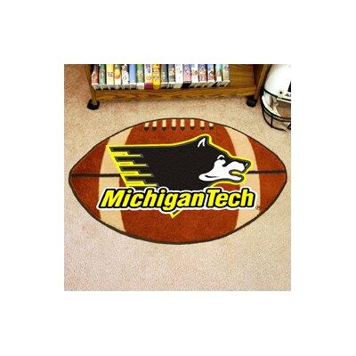 NCAA Michigan Tech Football Doormat