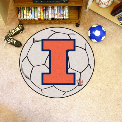 NCAA University of Illinois Soccer Ball