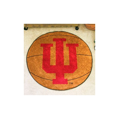 NCAA Indiana University Basketball Mat