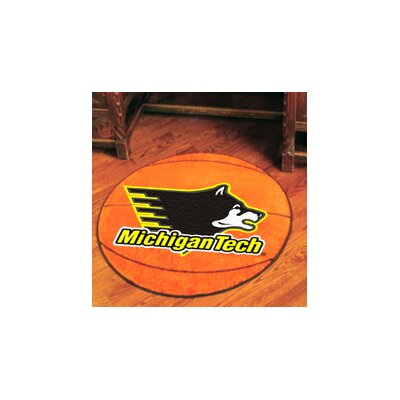 NCAA Michigan Tech Basketball Mat