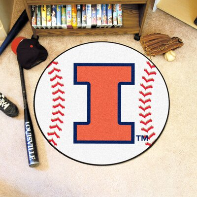 NCAA University of Illinois Baseball Mat