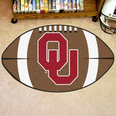 NCAA University of Oklahoma Football Doormat