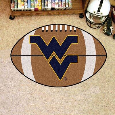 NCAA West Virginia University Football Doormat