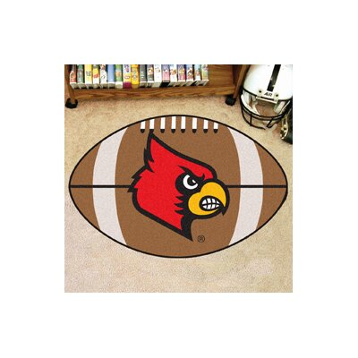 NCAA University of Louisville Football Doormat