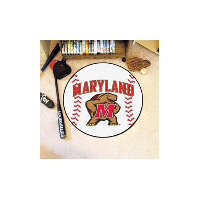 NCAA University of Maryland Baseball Mat