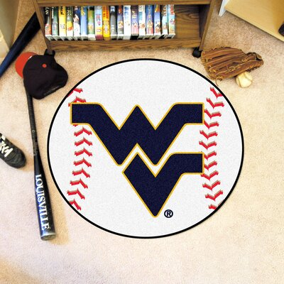 NCAA West Virginia University Baseball Mat
