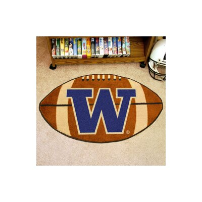 NCAA University of Washington Football Doormat