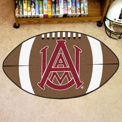 NCAA Area Rug NCAA Team: Alabama A&M University
