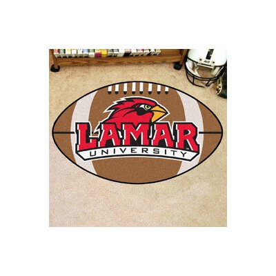 NCAA Area Rug NCAA Team: Lamar University