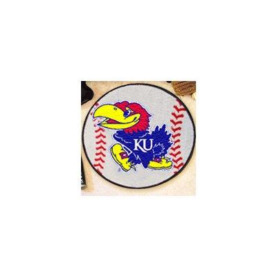 NCAA University of Kansas Baseball Mat