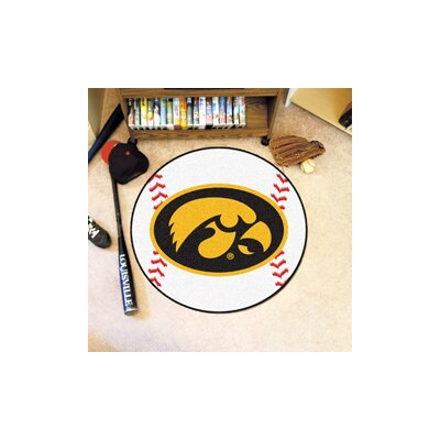 NCAA University of Iowa Baseball Mat