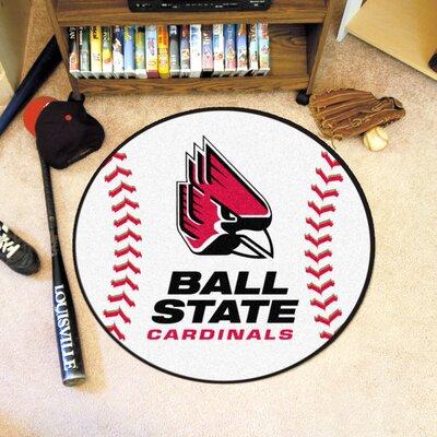 NCAA Ball State University Baseball Mat