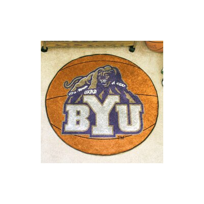 NCAA Brigham Young University Basketball Mat