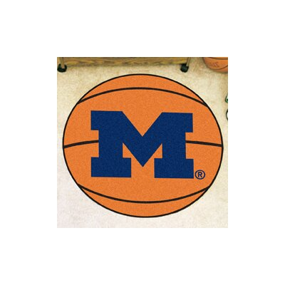 NCAA University of Michigan Basketball Mat