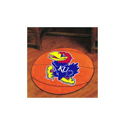 NCAA University of Kansas Basketball Mat