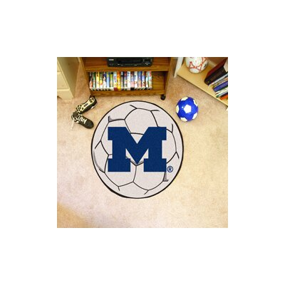 NCAA University of Michigan Soccer Ball
