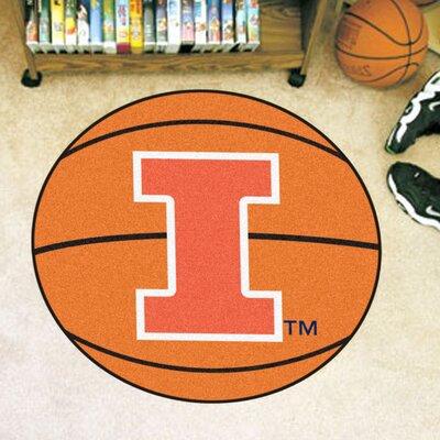 NCAA University of Illinois Basketball Mat