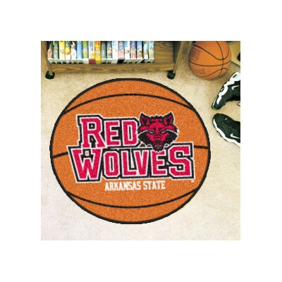 NCAA University of Arkansas Basketball Mat