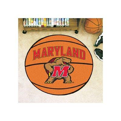 NCAA University of Maryland Basketball Mat