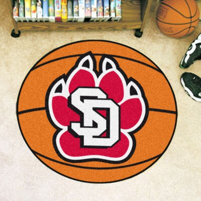 NCAA University of South Dakota Basketball Mat
