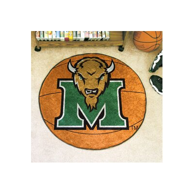 NCAA Marshall University Basketball Mat