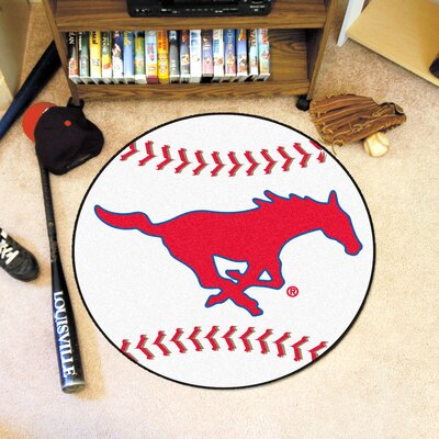 NCAA Southern Methodist University Baseball Mat